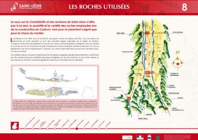 Saint-Lézer : panneau 8