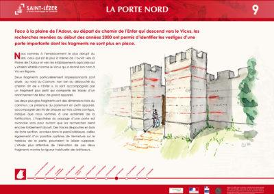 Saint-Lézer : panneau 9
