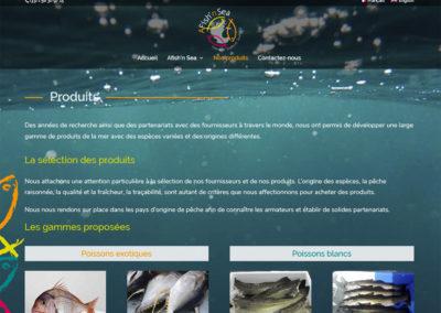 A Fish'n Sea - produits