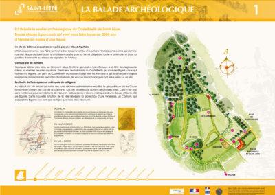 La balade archéologique de Saint-Lézer