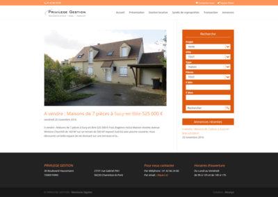 Privilège Gestion - résultat de recherche sur les annonces immobilières