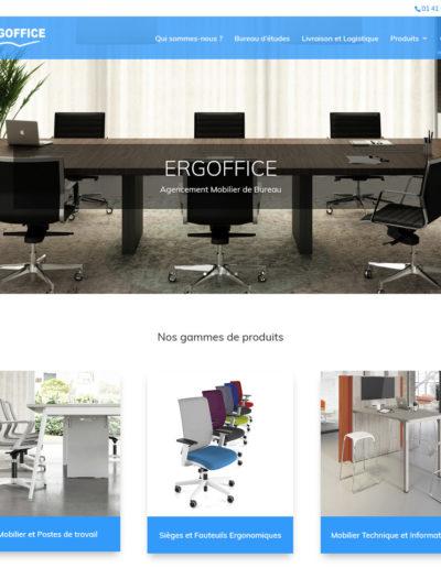 ERGOFFICE - page d'accueil
