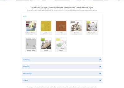Catalogues fournisseurs en ligne