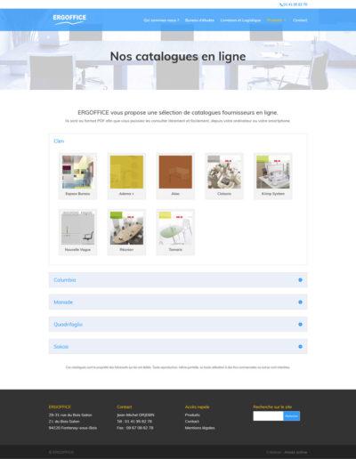 ERGOFFICE - catalogues fournisseurs en ligne