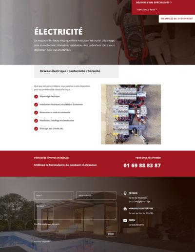 Concept Habitat Sûr - Électricité