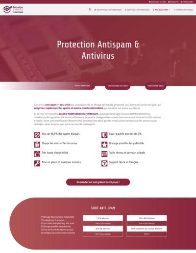 Meatys - page antivirus antispam