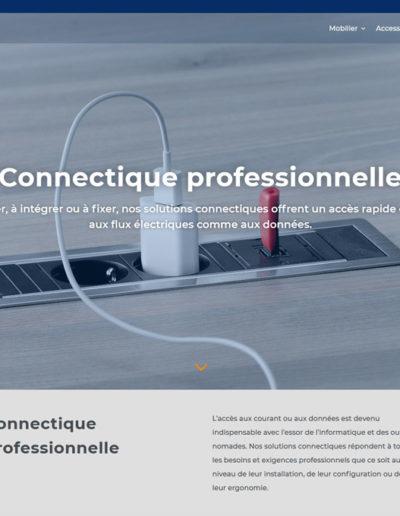EGIC Solutions - page connectique professionnelle