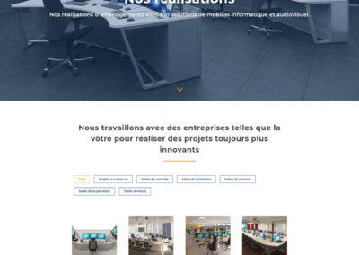 EGIC Solutions - page réalisations