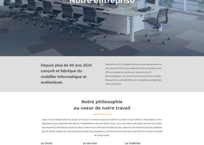 EGIC Solutions - page infos entreprise