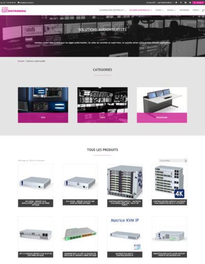 Distrimédia - page solutions audiovisuelles