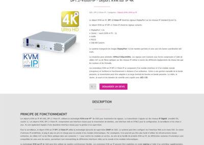 Distrimédia - page produit