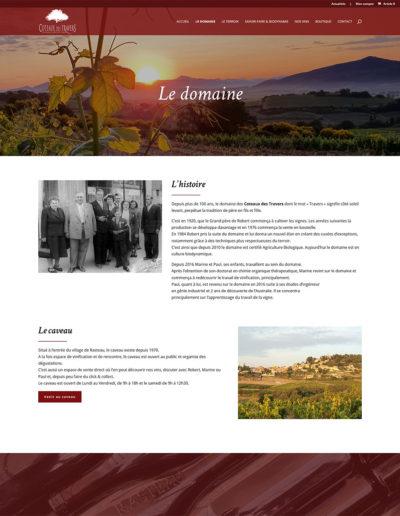 Domaine des Coteaux des Travers - Le domaine