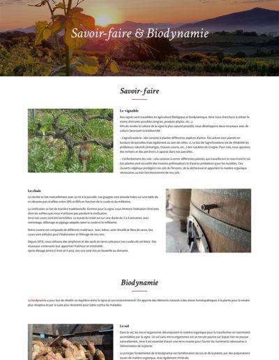 Domaine des Coteaux des Travers - Savoir faire