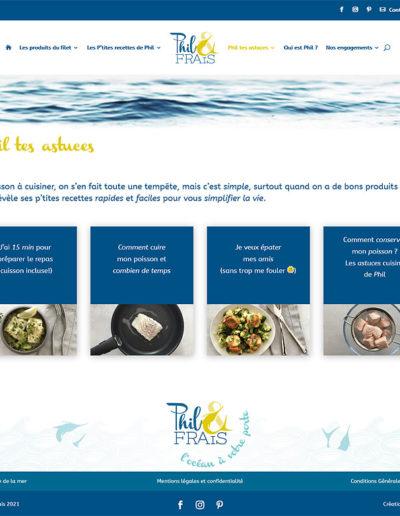 Phil & Frais - les astuces de préparation et de cuisson