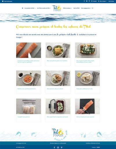 Phil & Frais - astuces de préparation et de cuisson