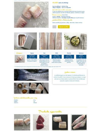 Phil & Frais - une page produit